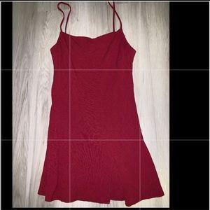 Princess polly red shift dress